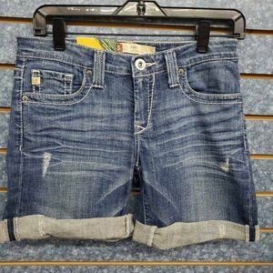 Big Star Remy Low Rise Denim Short Women's Sz 27